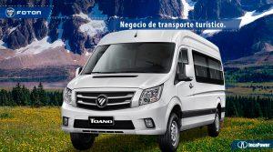 Para negocio de transporte turístico - BigVan Toano de Foton