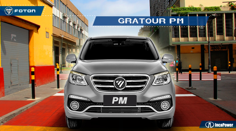 Camioneta de 7 asientos - Gratour PM Foton