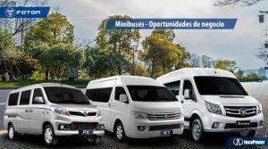 Minibuses-FotonPerú Oportunidades-de-negocio