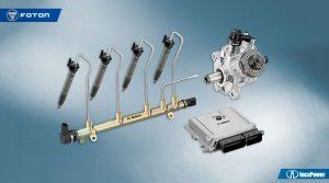 Foton con sistema Common-Rail-Bosch