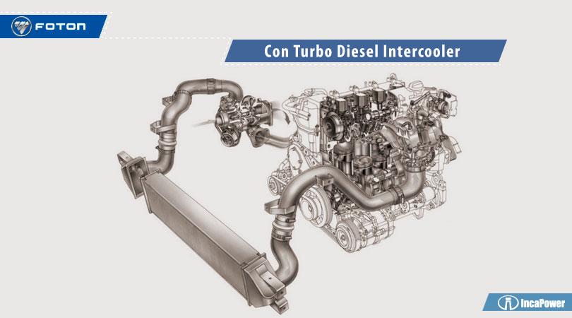 Foton con Turbo Diesel Intercooler
