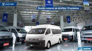 Minibus de 19 asientos - K0 de Foton