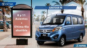 Vehiculos-Multiproposito-Gratour PX Foton