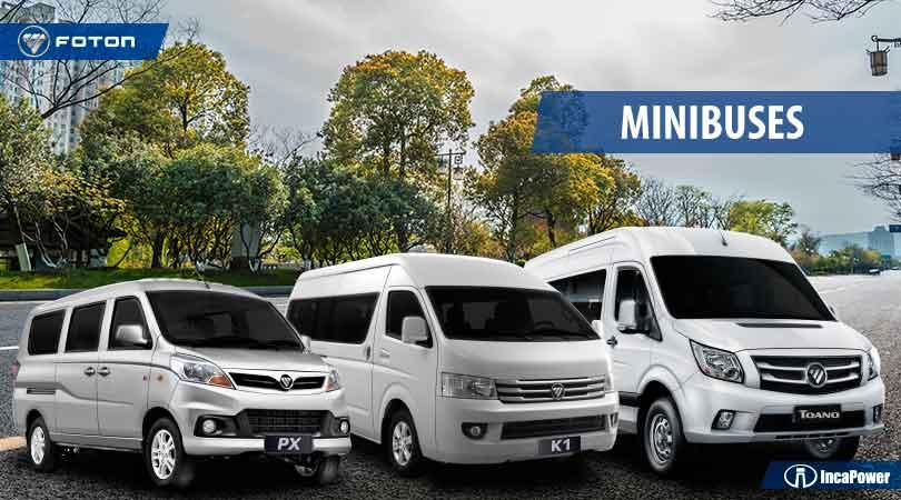 Aprovecha el fin de semana largo y activa tu negocio con los minibuses Foton.