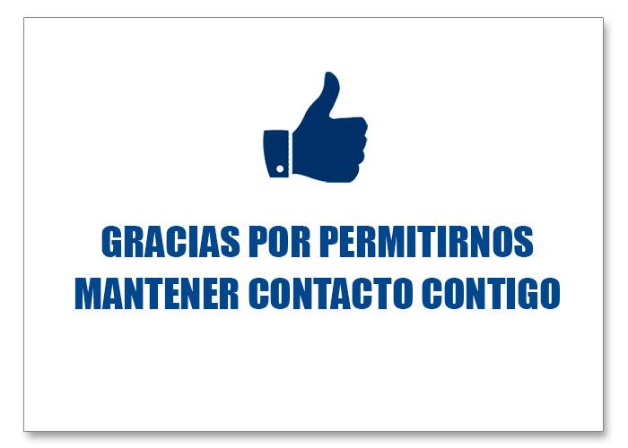 Foton te de las gracias por permitirnos mantener contacto contigo