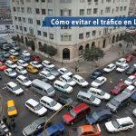como evitar trafico en Lima
