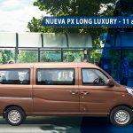 Nueva minivan PX Long Luxury 11 asientos de FOTON