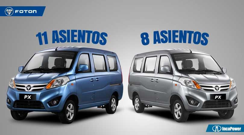Minivan para negocio - FOTON - 8 y 11 asientos