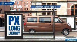 Minivan para negocio - FOTON - gasolina y dual - 8 y 11 asientos