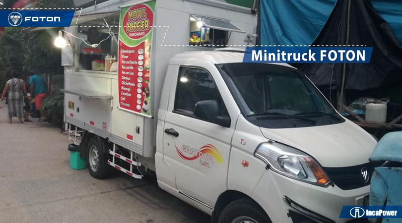mini truck Foton convertido en peru