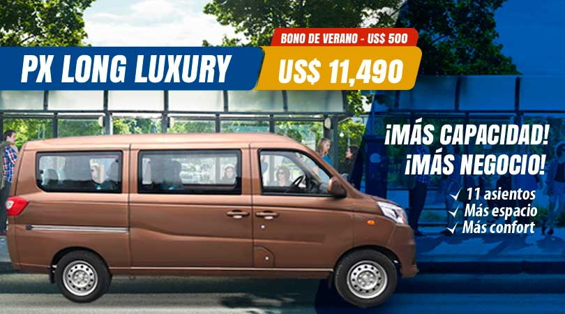 Minivan para negocio con más capacidad - PX Long Luxury 11 asientos de FOTON