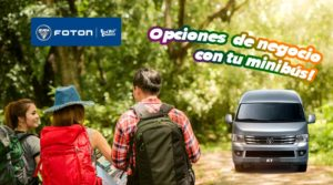 Opciones de negocio con minibús FOTON