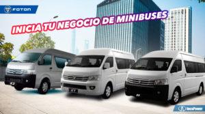 negocio de minibuses - Foton