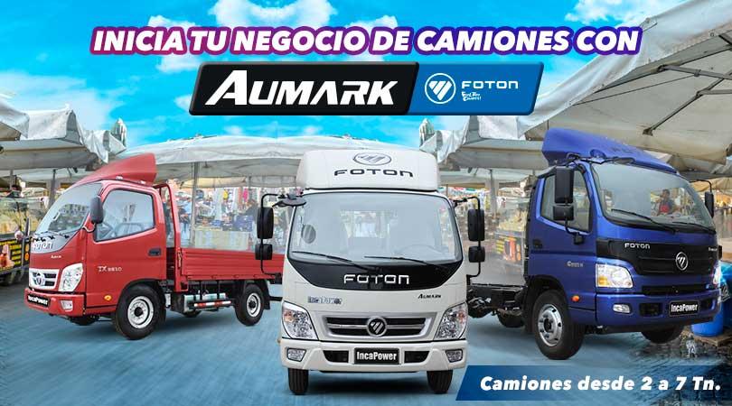 Camiones Foton Aumark