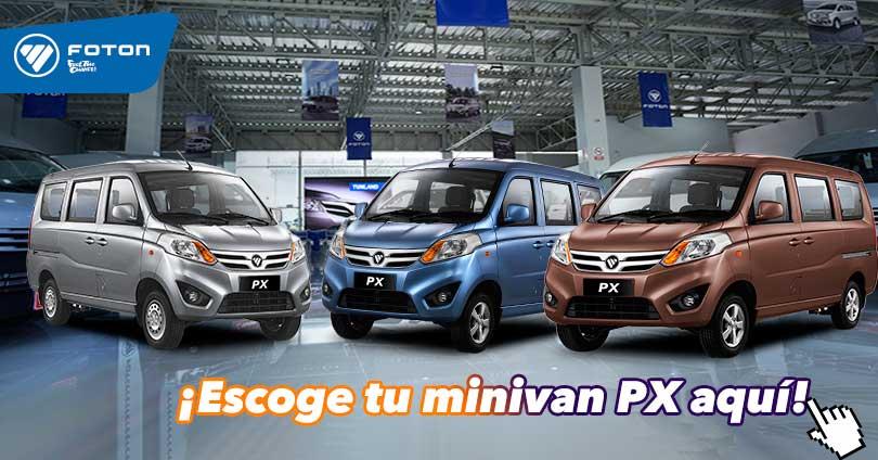 minivan PX Foton