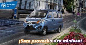 Minivan PX de Foton