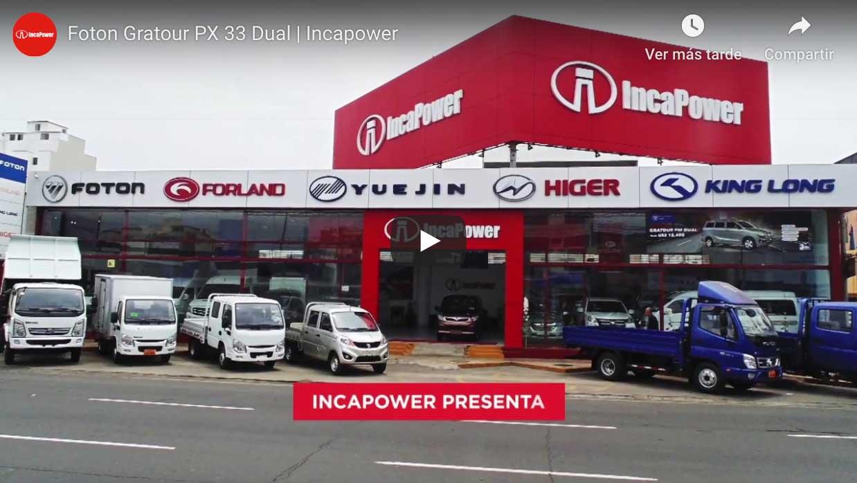 minivan px 33 dual foton