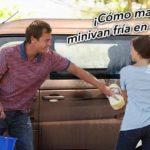 Cómo mantener tu minivan fría en el verano