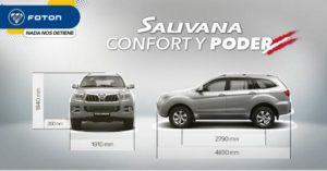 Sauvana de Foton. Confort y poder