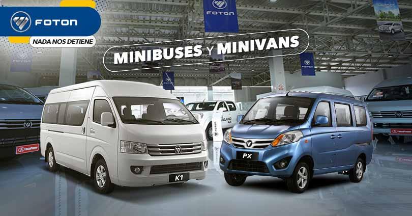 Minibuses y minivans FOTON