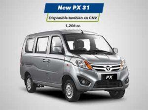 Minivan New PX31 Foton