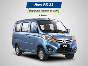 Minivan New PX33 Foton