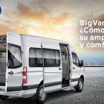 BigVan Toano, ¿Cómo aprovechar su amplio espacio y comfort?